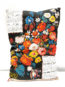Coussin Calendrier Floral 1982