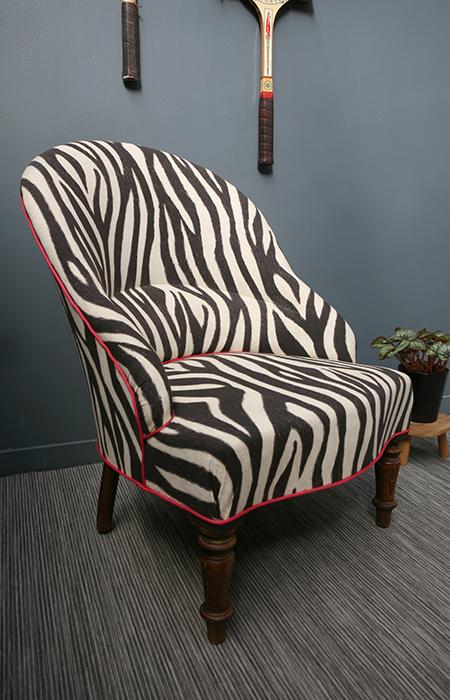 fauteuil crapaud le z bre et la framboise la mauvaise. Black Bedroom Furniture Sets. Home Design Ideas