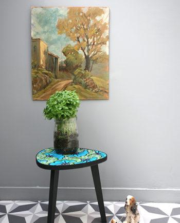 le fauteuil pois or la mauvaise r putation. Black Bedroom Furniture Sets. Home Design Ideas