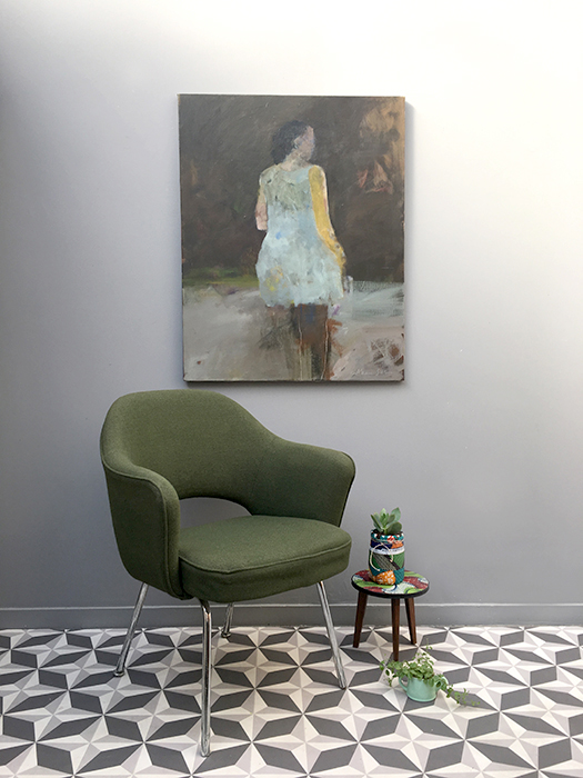 fauteuil vert eero saarinen 2 la mauvaise r putation. Black Bedroom Furniture Sets. Home Design Ideas