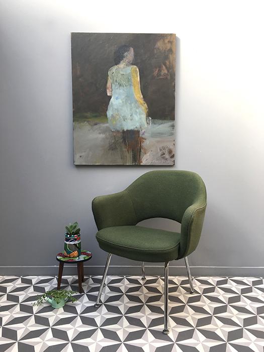 fauteuil vert eero saarinen 1 la mauvaise r putation. Black Bedroom Furniture Sets. Home Design Ideas