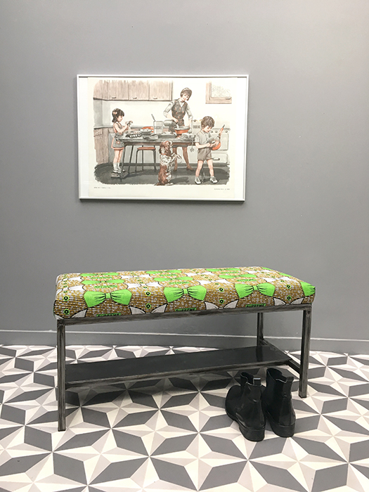 banc choupi motif supreme life la mauvaise r putation. Black Bedroom Furniture Sets. Home Design Ideas