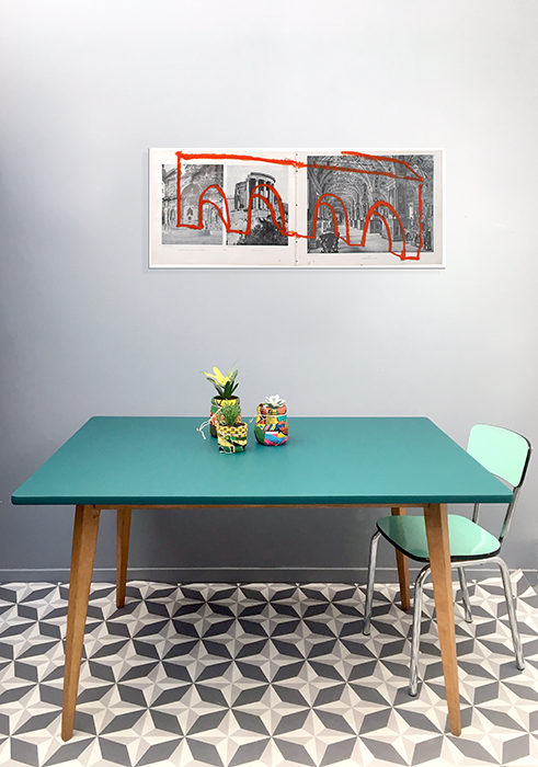 grande table de salle a manger emeraude la mauvaise r putation. Black Bedroom Furniture Sets. Home Design Ideas