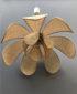 Suspension en Cannage Forme de Fleur