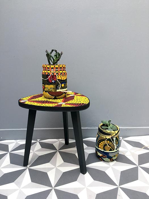 table tripode boucle d or 30 cm diamant la mauvaise. Black Bedroom Furniture Sets. Home Design Ideas
