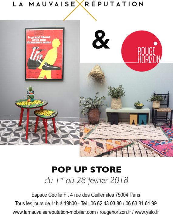 pop up store la mauvaise r putation x yato x rouge. Black Bedroom Furniture Sets. Home Design Ideas