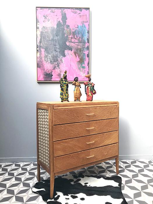 commode bois et fleurs la mauvaise r putation. Black Bedroom Furniture Sets. Home Design Ideas