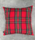 Coussin Red Tartan