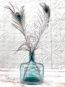 Dame Jeanne Rectangle Bleu Vert