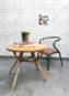 Petite Table en Rotin Courbé