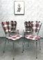 4 Chaises [ Fleur de Glasgow ]