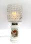 Lampe Surcyclée Fleurie [Collection Les Bizarreries]