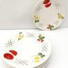 7 Assiettes Plates Longchamp